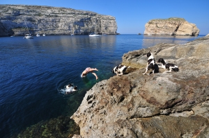 Gozo - By the Seaside by Ted attard