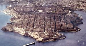 Valletta Aerial Shot