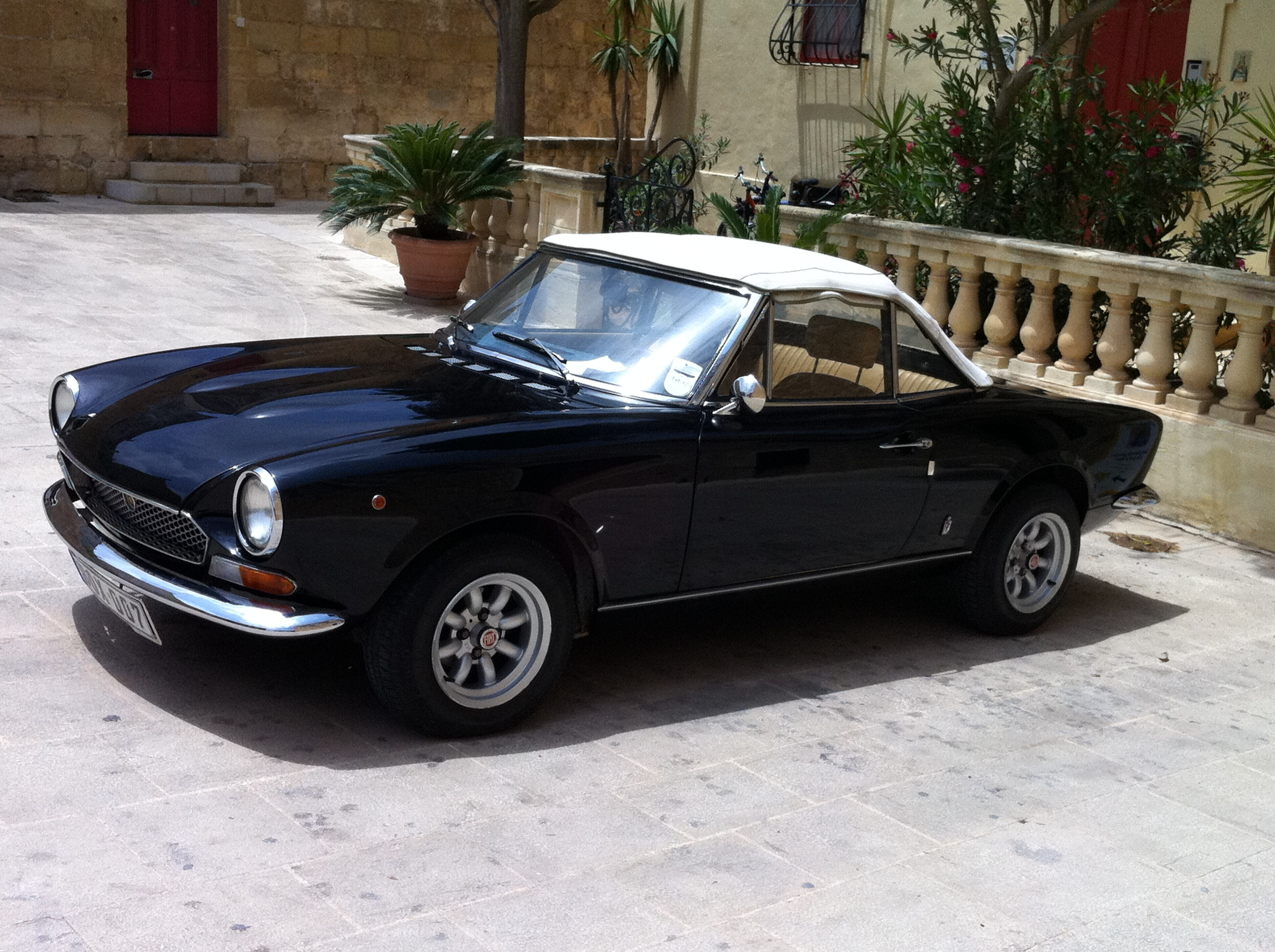 Affordable Classics Race Cars You Can Afford Viva 1970 Fiat Spider Convertible Img 0238